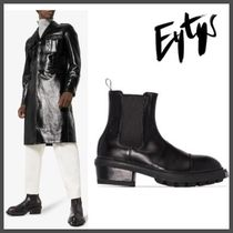 Eytys Street Style Plain Leather Boots
