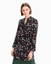 marimekko Dots Silk Long Sleeves Tunics