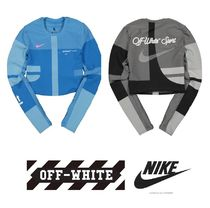 Off-White Unisex Street Style Collaboration Yoga & Fitness Tops