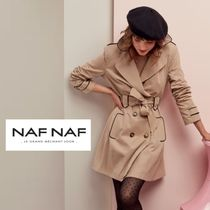 NAF NAF Plain Office Style Trench Coats