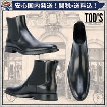 TOD'S Plain Leather Chelsea Boots Chelsea Boots