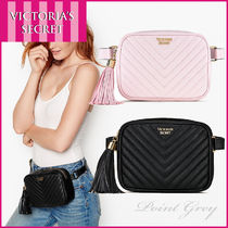 Victoria's secret Pebbled V-Quilt Belt Bag