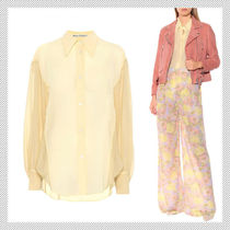 Acne Casual Style Long Sleeves Medium Shirts & Blouses