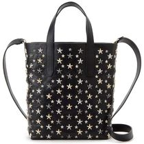 Jimmy Choo Star Studded 2WAY Leather Totes