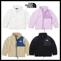 THE NORTH FACE Unisex Street Style Oversized Kids Girl Outerwear