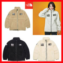 THE NORTH FACE Short Unisex Street Style Plain Jackets