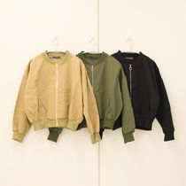Plain Medium MA-1 Khaki Bomber Jackets