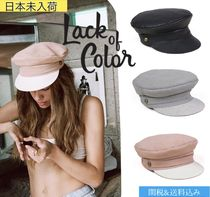 lack of color Unisex Studded Beret & Huting