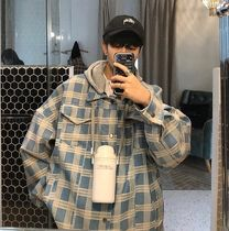 Short Other Plaid Patterns Street Style Coach Jackets