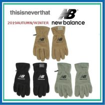 thisisneverthat Unisex Street Style Collaboration Plain Gloves Gloves