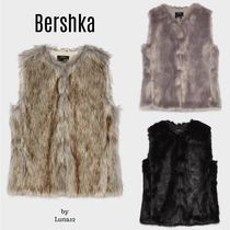 Bershka Casual Style Medium Vests