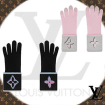 Louis Vuitton Wool Plain Smartphone Use Gloves