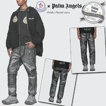 MONCLER Street Style Collaboration Cotton Jeans & Denim