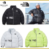 THE NORTH FACE WHITE LABEL Short Unisex Street Style Plain Oversized Down Jackets