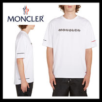 MONCLER Crew Neck Street Style Cotton Short Sleeves