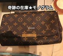 Louis Vuitton MONOGRAM Monogram Blended Fabrics 3WAY Leather Elegant Style