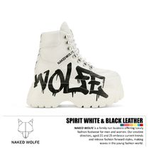 Naked Wolfe Unisex Logo Low-Top Sneakers