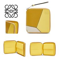 LOEWE PUZZLE Leather Folding Wallets