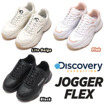 Discovery EXPEDITION Casual Style Unisex Street Style Dad Sneakers
