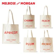 Melrose and Morgan Casual Style Canvas Totes