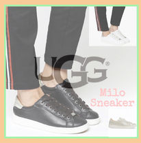UGG Australia MILO Casual Style Plain Leather Low-Top Sneakers