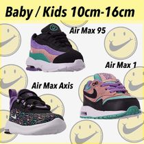 Nike AIR MAX 1 Unisex Street Style Baby Girl Shoes
