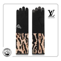 Louis Vuitton Blended Fabrics Other Animal Patterns Smartphone Use Gloves