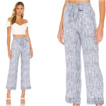TULAROSA Casual Style Cotton Long Cropped & Capris Pants