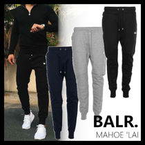 BALR Unisex Sweat Street Style Plain Joggers & Sweatpants