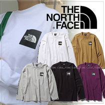 THE NORTH FACE Unisex Street Style Long Sleeves Plain Long Sleeve T-Shirts