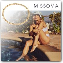 MISSOMA Casual Style Chain 18K Gold Office Style Elegant Style