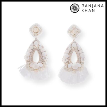 Casual Style Party Style Oversized Earrings