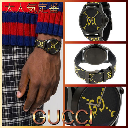 GUCCI More Watches Blended Fabrics Street Style Smartwatch Watches Watches