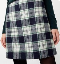Hobbs London Glen Patterns Wool Elegant Style Skirts