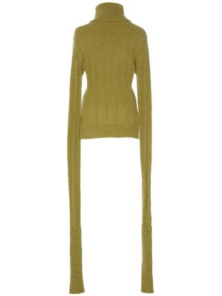 Cable Knit Long Sleeves Turtlenecks