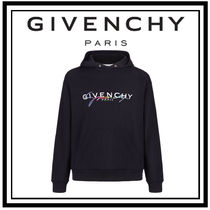 GIVENCHY Pullovers Unisex Street Style Long Sleeves Plain Cotton