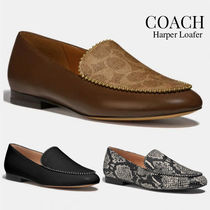 Coach Casual Style Blended Fabrics Plain Other Animal Patterns