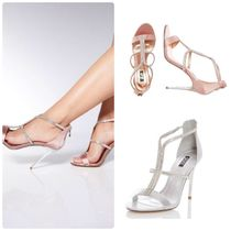 Lipsy Open Toe Plain Pin Heels Party Style Shoes