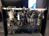Coach Plain Leather Keychains & Holders