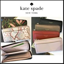kate spade new york Leather Long Wallets