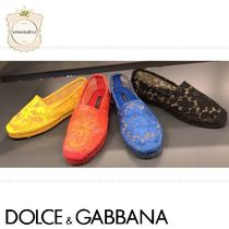 Dolce & Gabbana Casual Style Slip-On Shoes