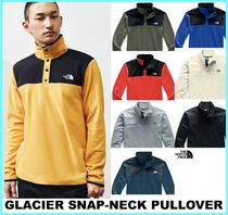THE NORTH FACE Pullovers Street Style Long Sleeves Plain Tops