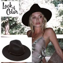 lack of color ★Lack of Color★classic luxe fedora  Black Colour