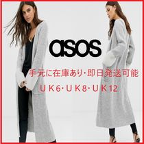 ASOS Casual Style Blended Fabrics Long Sleeves Plain Long