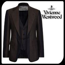 Vivienne Westwood Stripes Wool Blazers Jackets