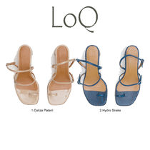 LOQ Casual Style Plain Sandals Sandal