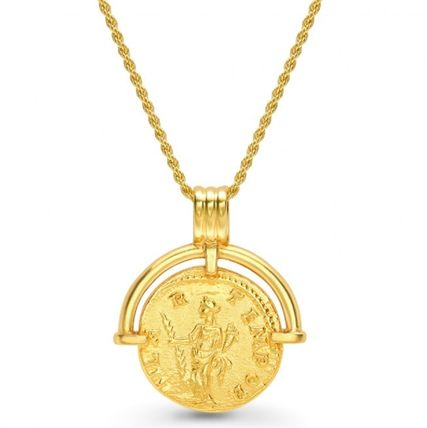 Casual Style Coin Brass 18K Gold Elegant Style