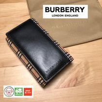 Burberry Unisex Leather Keychains & Bag Charms
