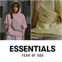 FEAR OF GOD ESSENTIALS Unisex Street Style Plain Bags