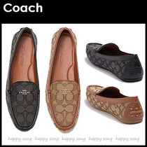 Coach Rubber Sole Casual Style Loafer & Moccasin Shoes